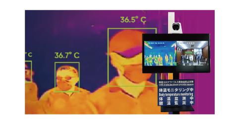 検温モニタリングシステムのイメージ画像